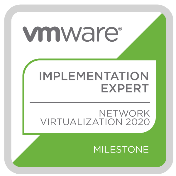 VMware Certified Implementation Expert - Network Virtualization 2020
