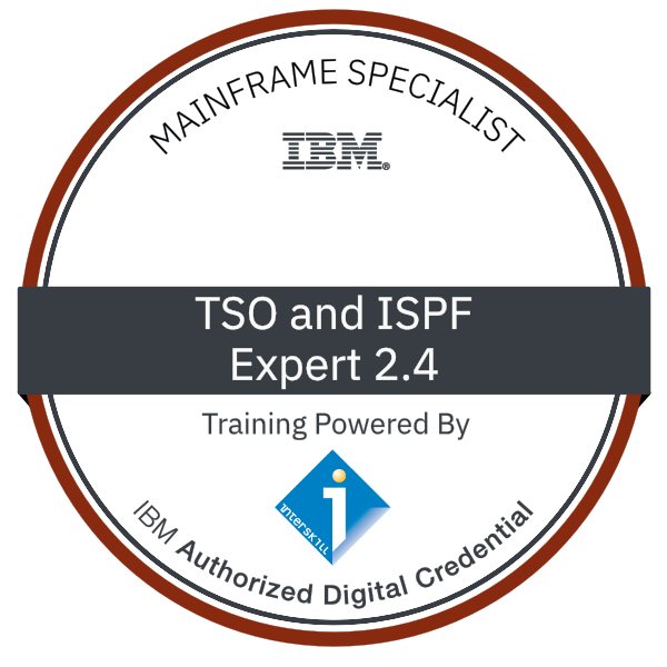 Interskill - Mainframe Specialist - TSO and ISPF – Expert 2.4
