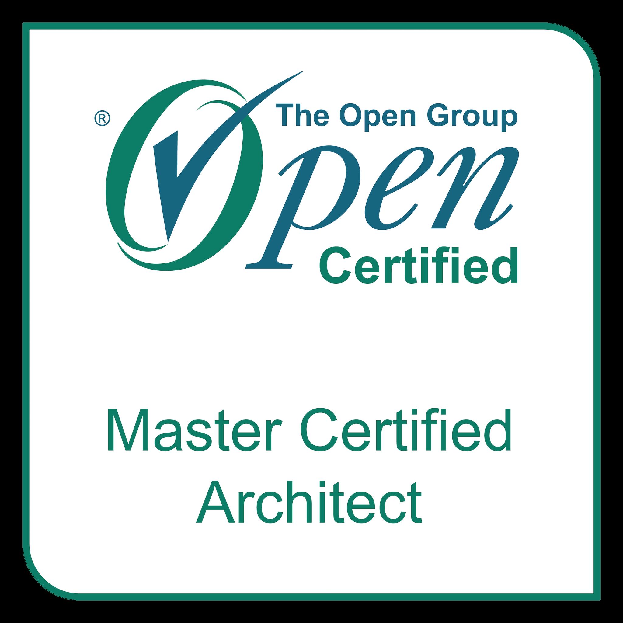 Professional Certification: Level 2 - Master Certified Enterprise Architect