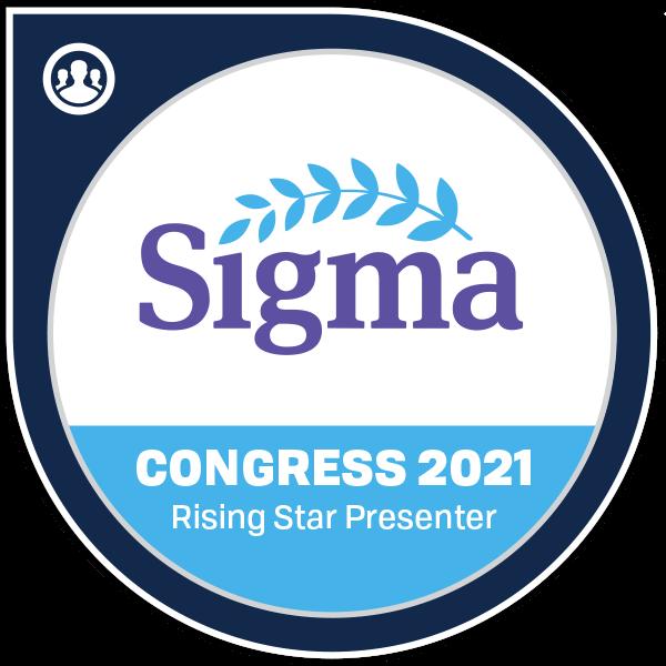 Congress 2021 Rising Star Presenter
