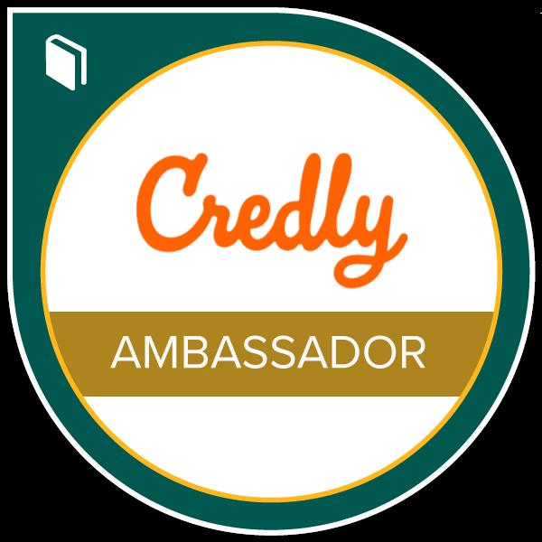 Credly Ambassador