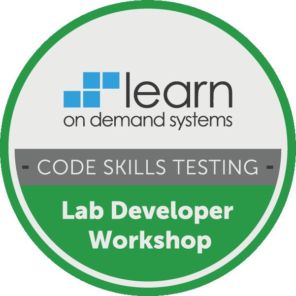 Lab Developer Workshop - Code Skills Testing