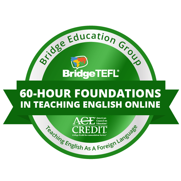 60-Hour Specialized Certificate in Foundations in Teaching English Online