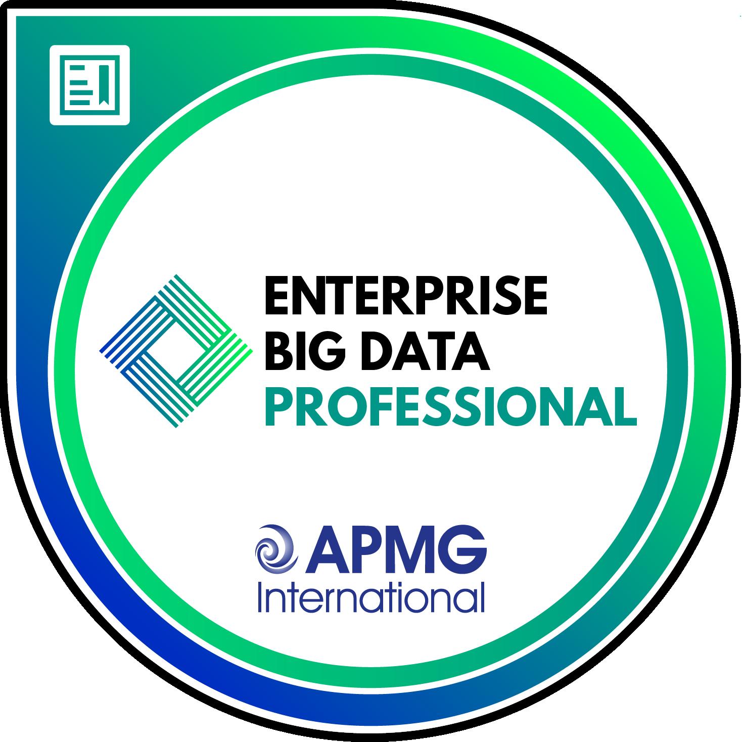 Enterprise Big Data Professional
