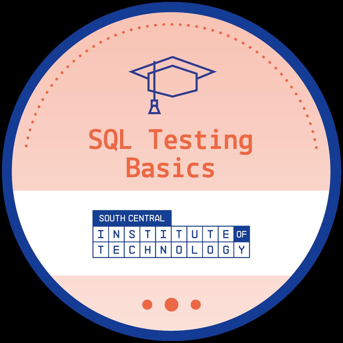 SQL Testing Basics