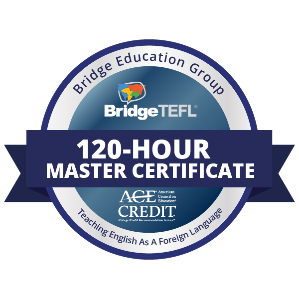 120-Hour Master Certificate in Teaching English as a Foreign Language