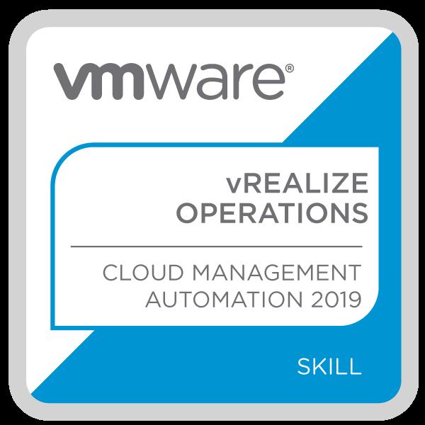 VMware vRealize Operations - Cloud Management Automation 2019