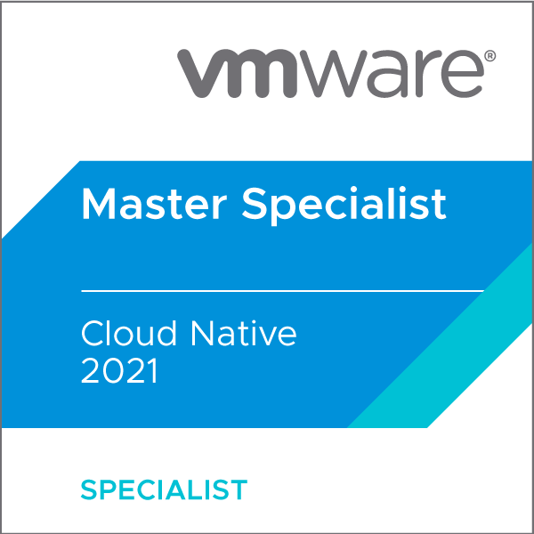 VMware Certified Master Specialist - Cloud Native 2021