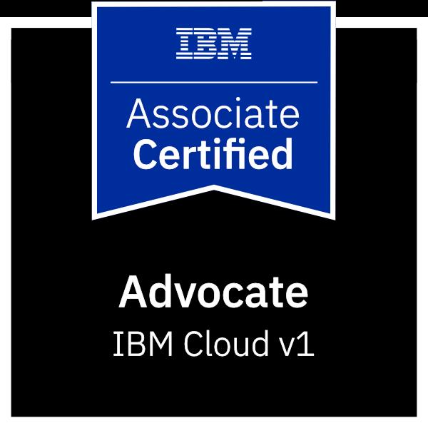 IBM Certified Advocate - Cloud v1