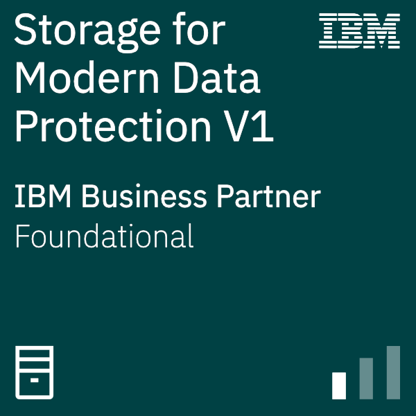 IBM Systems Business Partner Storage for Modern Data Protection V1
