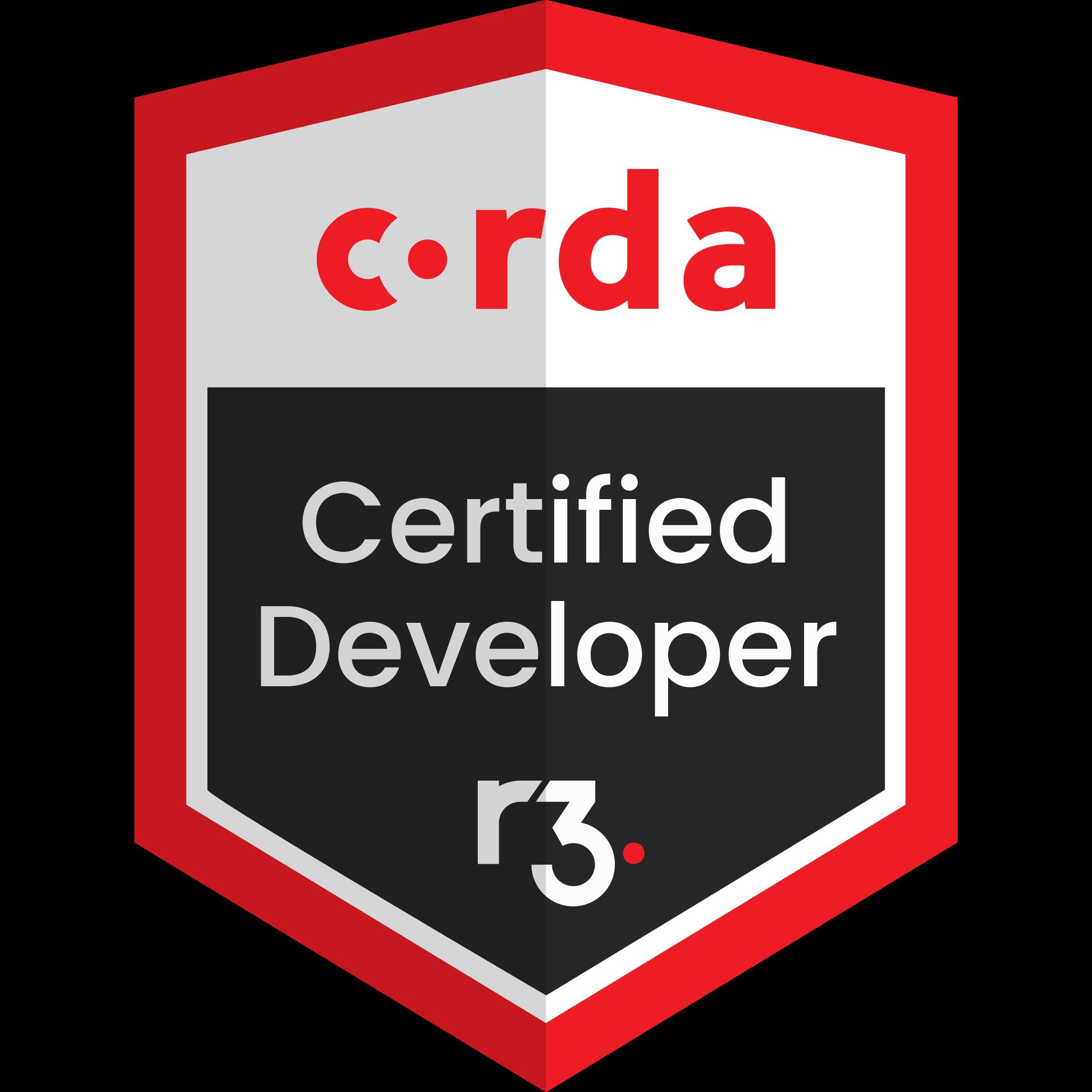 Corda Certified Developer