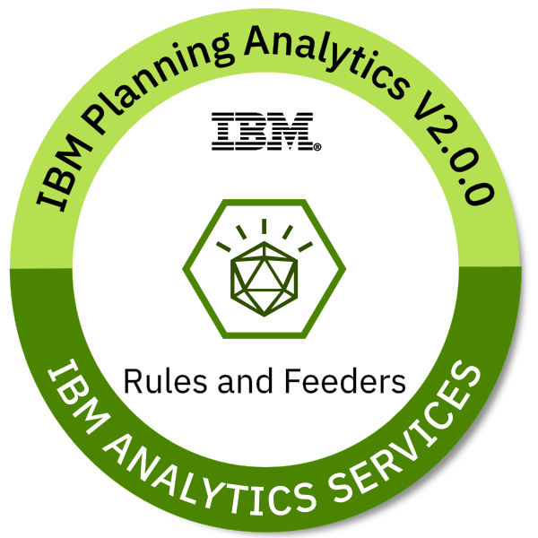 IBM Planning Analytics V2.0.0 Rules and Feeders