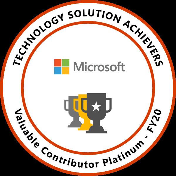 Valuable Contributor Platinum