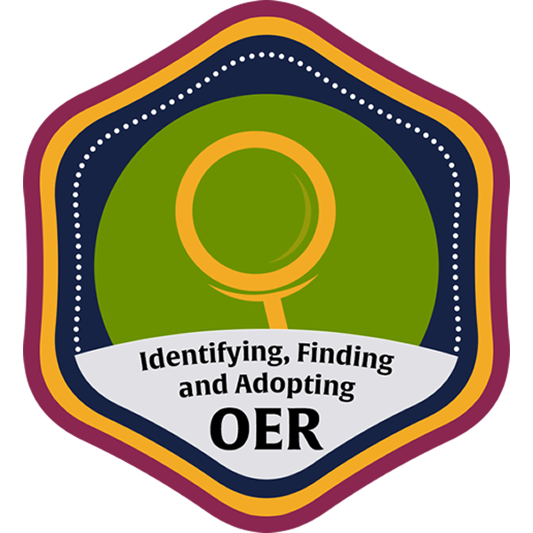 Identifying, Finding and Adopting OER Community Course