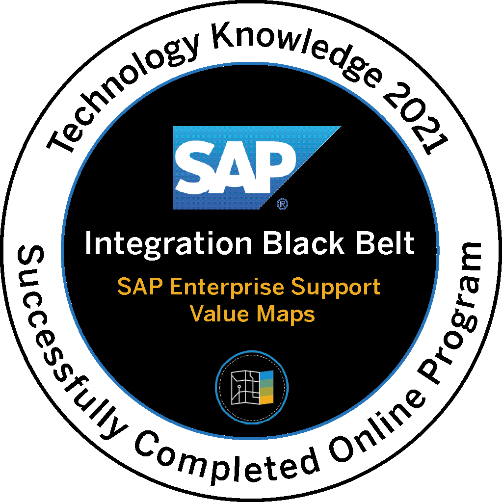 Technology Knowledge 2021 - Integration Black Belt SAP Enterprise Support Value Maps