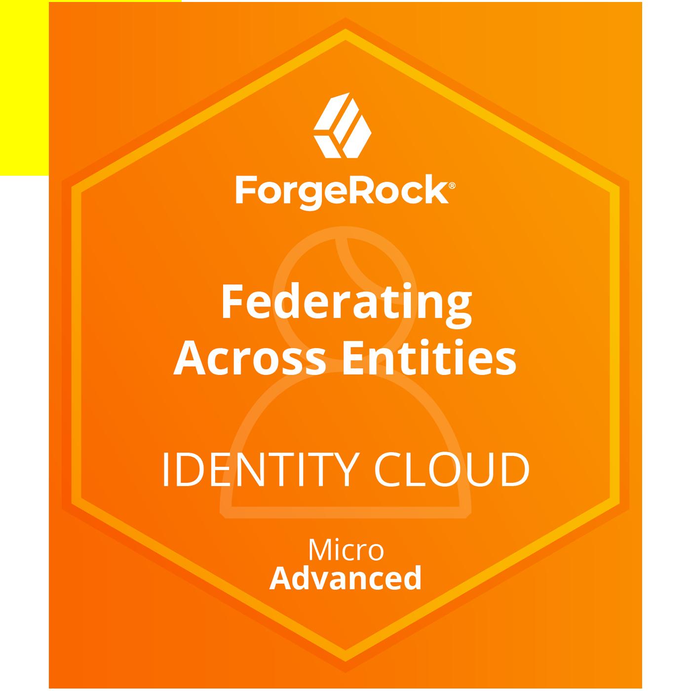 ForgeRock Identity Cloud: Access Management Micro Advanced Skills - Federating Across Entities Using SAML2