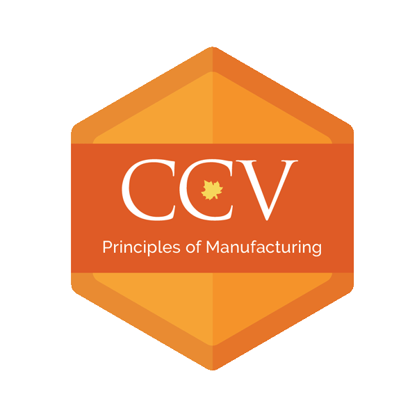 Principles of Manufacturing