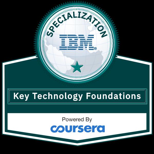 Key Technology Foundations Specialization