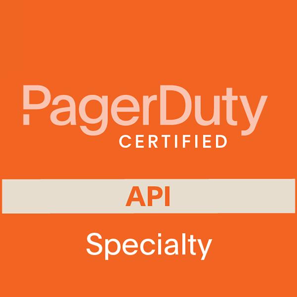 PagerDuty API Certification