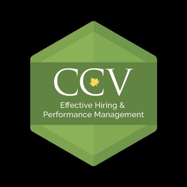Effective Hiring & Performance Management