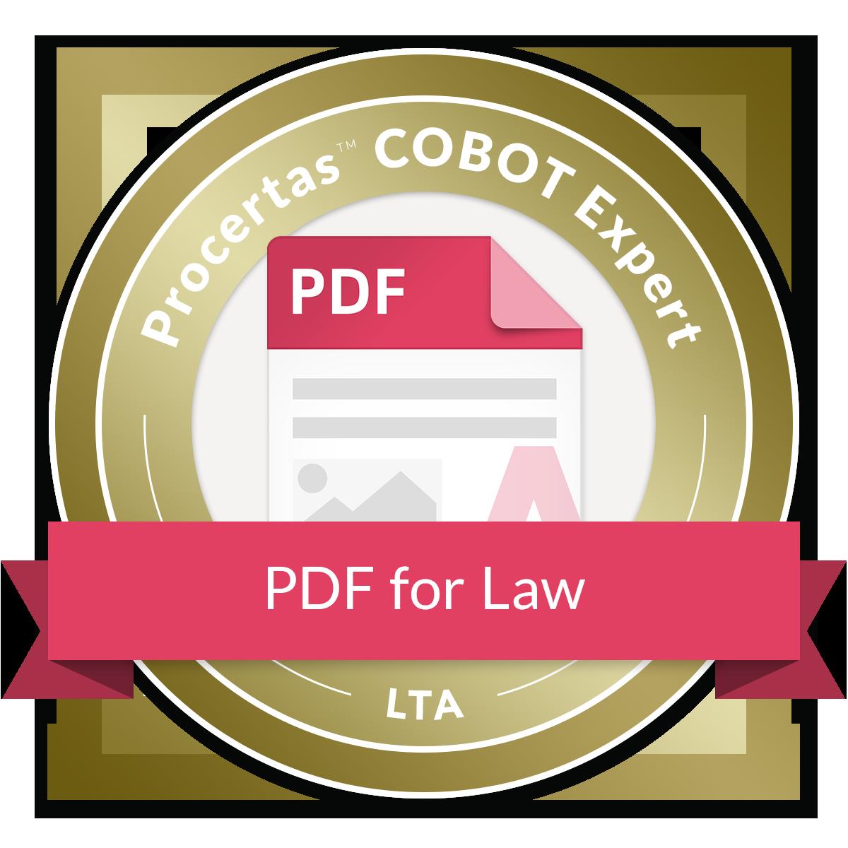 COBOT Expert - PDF for Law