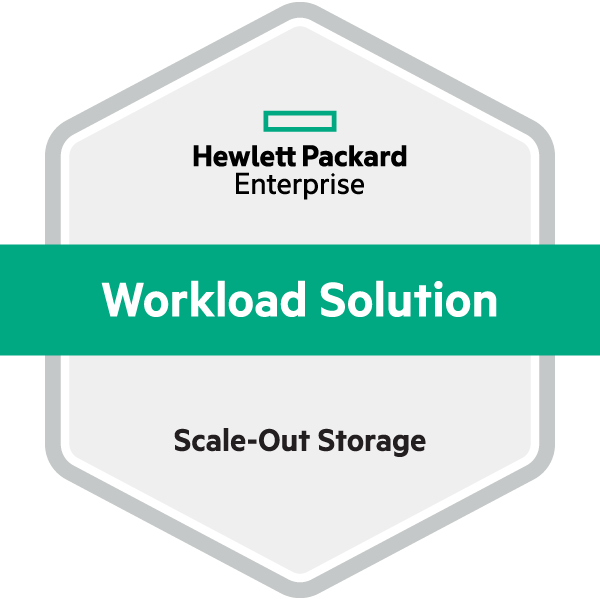 HPE Workload Solution Scale Out Storage