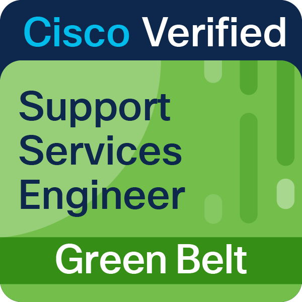 Support Services Engineer Green Belt
