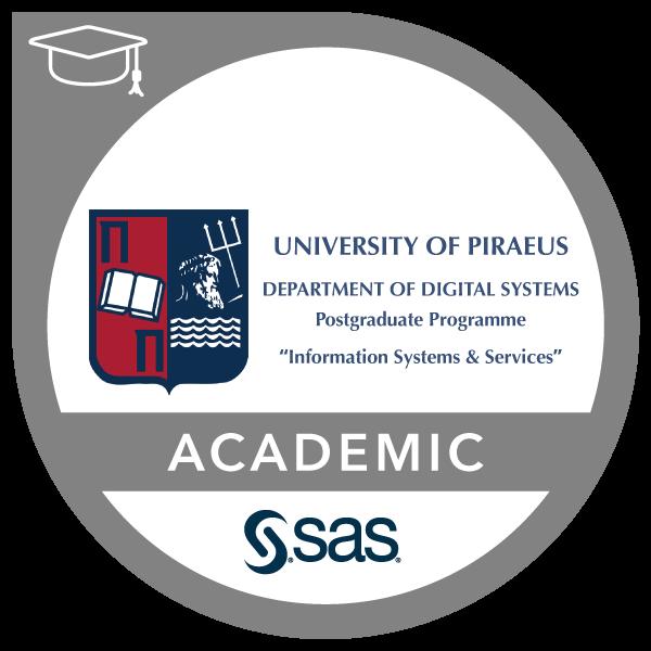 SAS-University of Piraeus Joint Certificate in Data Management and Data Analytics