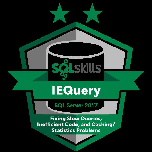 SQLskills IEQuery - SQL Server 2017