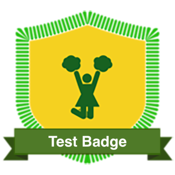 Badge for Testing