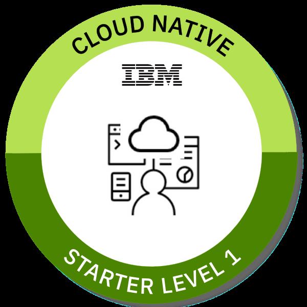 Cloud Native Starter Level 1