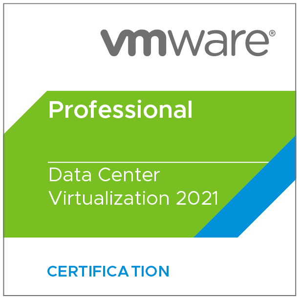 VMware Certified Professional - Data Center Virtualization 2021