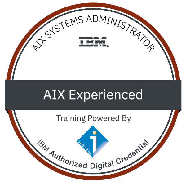 Interskill - AIX Systems Administrator - Experienced
