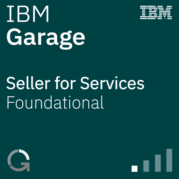 IBM Garage Seller for Services