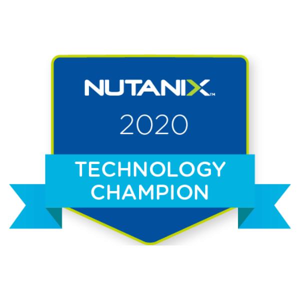 Nutanix Technology Champion (2020)