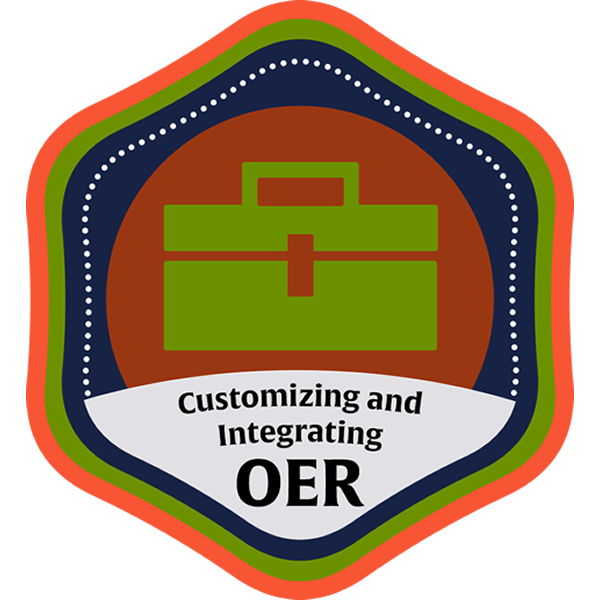 Customizing and Integrating OER Community Course