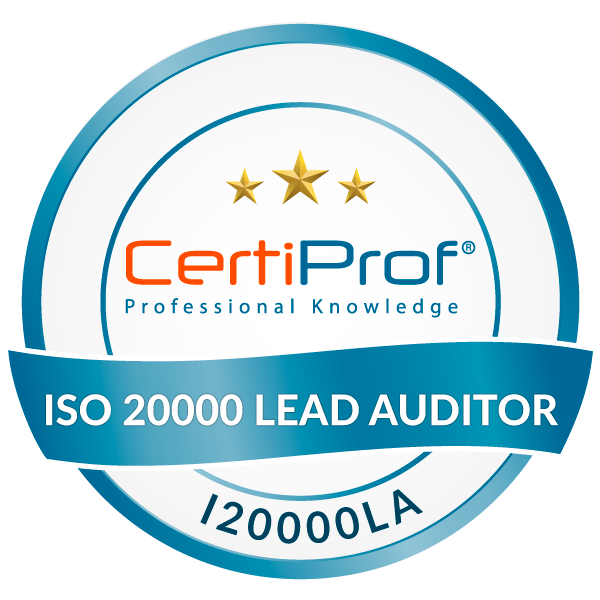 Certified ISO/IEC 20000 Lead Auditor