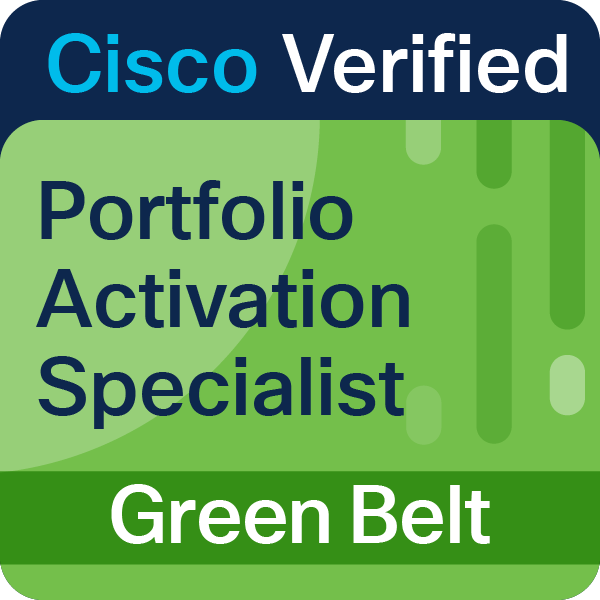 Portfolio Activation Specialist Green Belt
