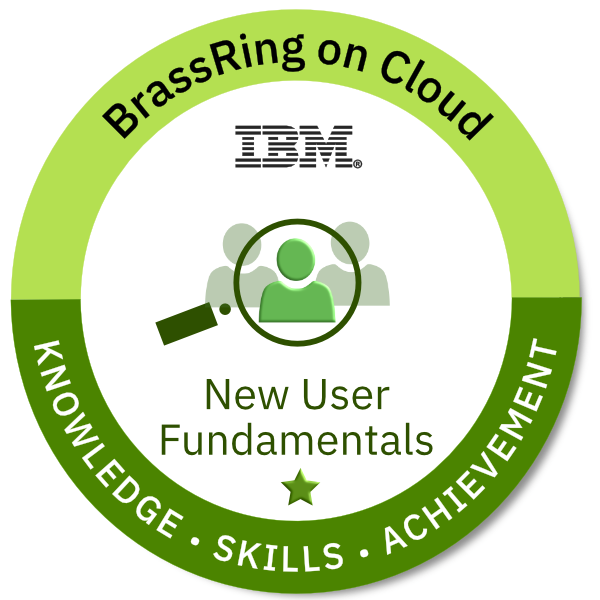 BrassRing on Cloud: New User Fundamentals