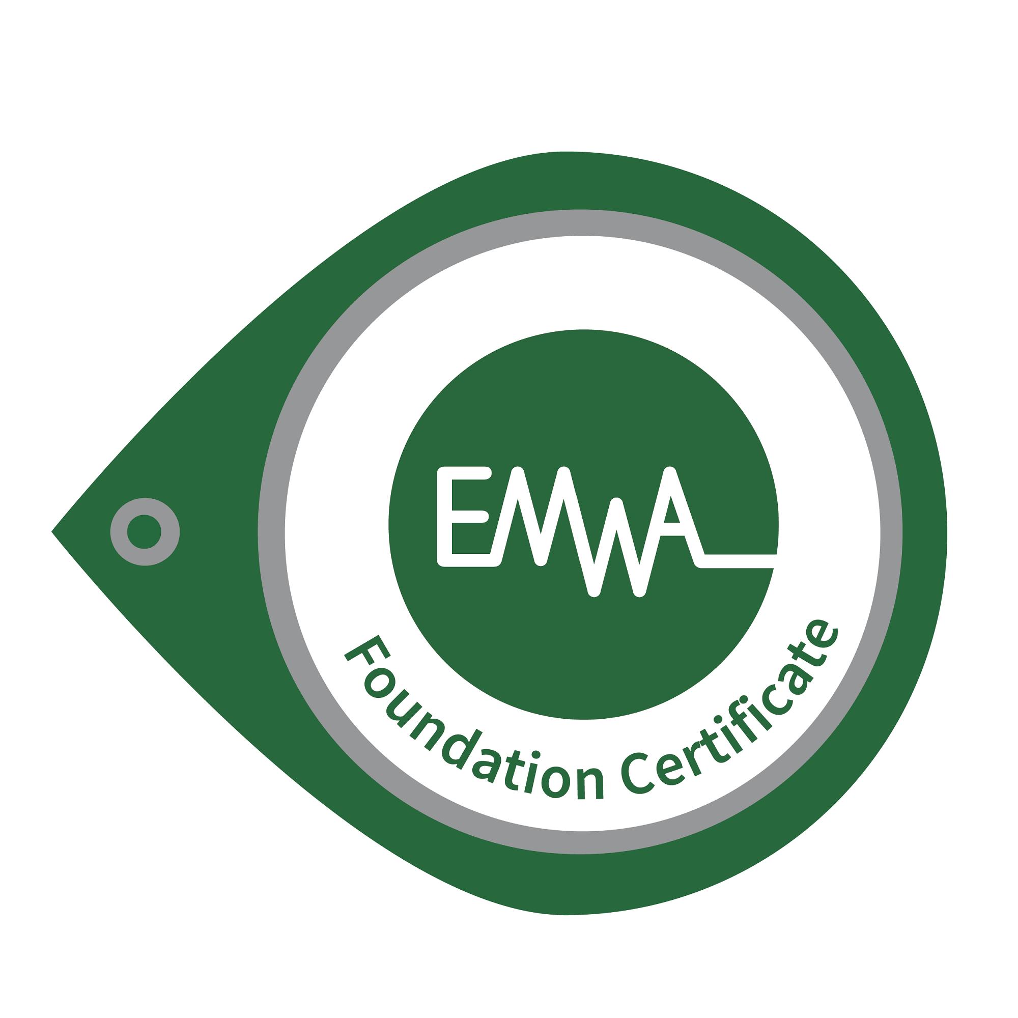 EMWA Foundation Certificate