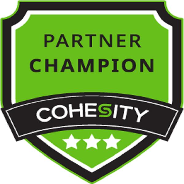 Cohesity Partner Champion – Level 3