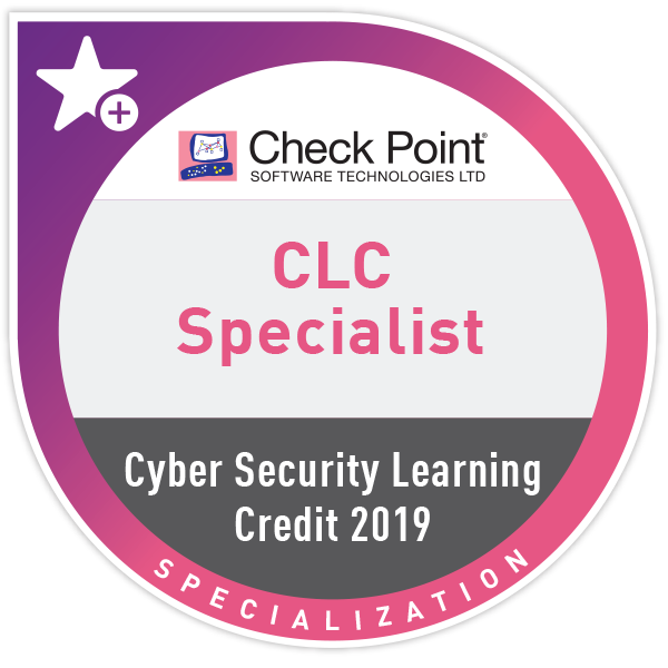 Cyber Security Learning Credits (CLC) Specialist 2019