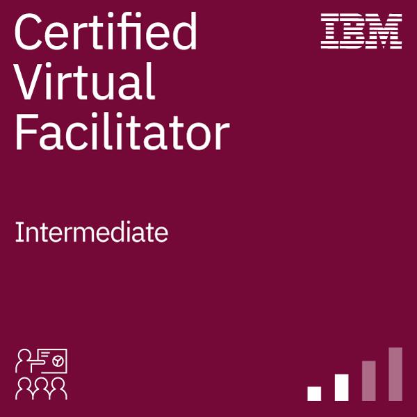 IBM Certified Virtual Facilitator