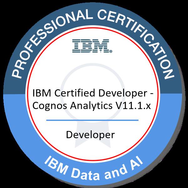 IBM Certified Developer - Cognos Analytics V11.1.x