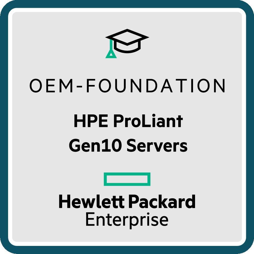 HPE ProLiant Gen10 Servers - OEM Foundation