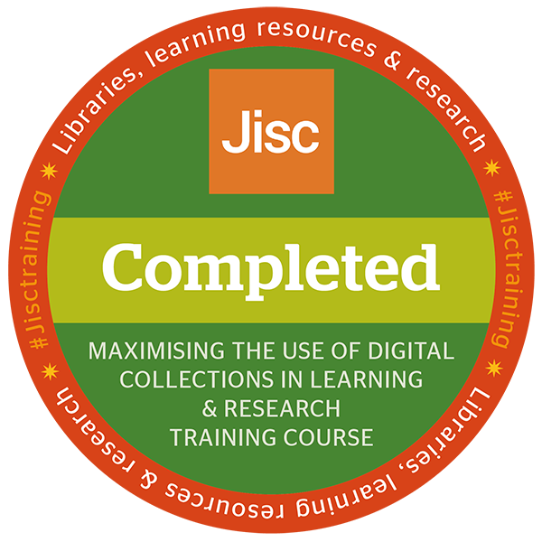 Maximising the use of digital collections in learning and research