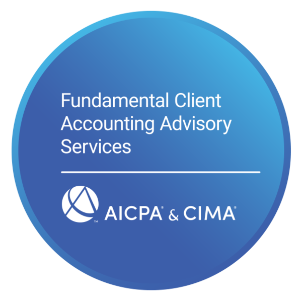Fundamental Client Accounting Advisory Services Certificate