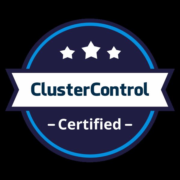 ClusterControl Certified