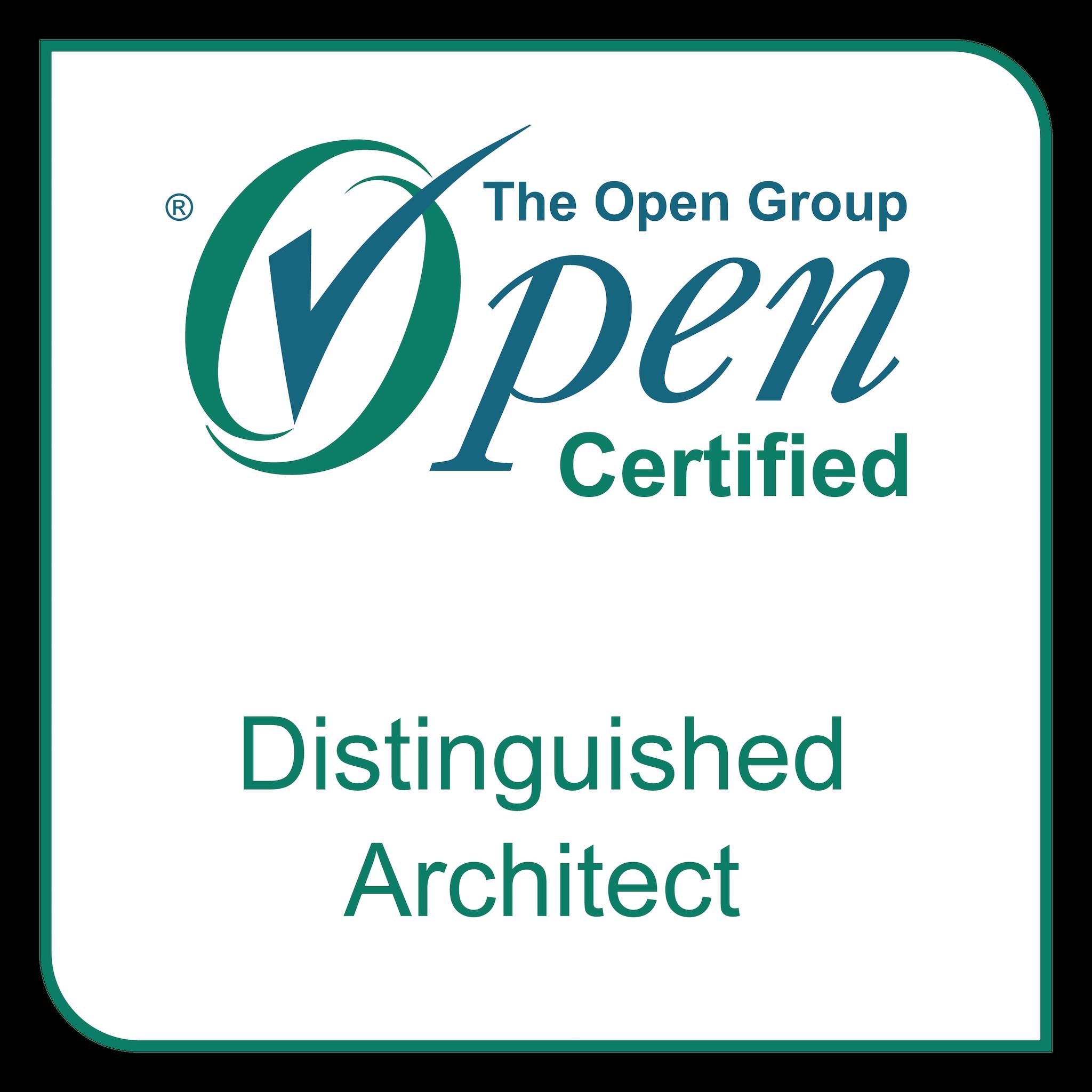 Professional Certification: Level 3 - Distinguished Architect