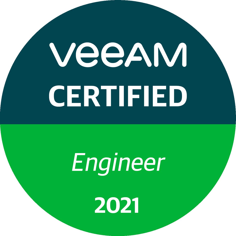 Veeam Certified Engineer 2021 (VMCE 2021)